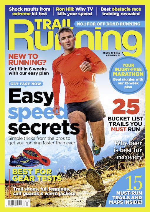 Trail Running UK Ueli Steck Cover
