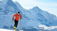 Ueli Steck ski mountaineering training