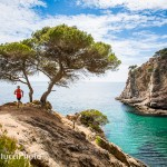 Running sights along the Costa Brava