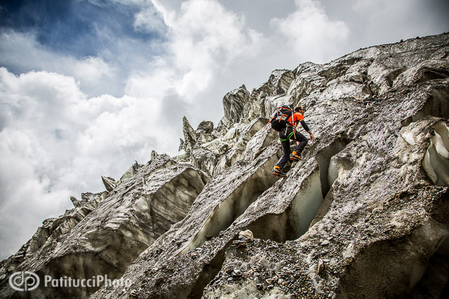 Ueli Steck Annapurna ice fall