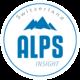 Alpsinsight logo white