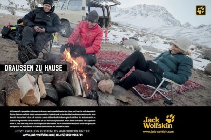 Jack Wolfskin : Commercial Assignment