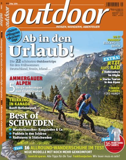 Outdoor Magazine Germanay : Stock Licensing & Assignments