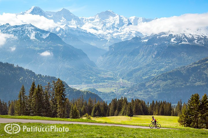 Summer. It started close to home, and what better place? The ultimate playground of Interlaken, in the valley below, with our big views of the Eiger, Mönch and Jungfrau.