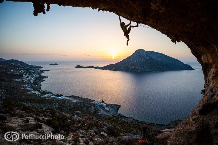Climbing in Kalymnos