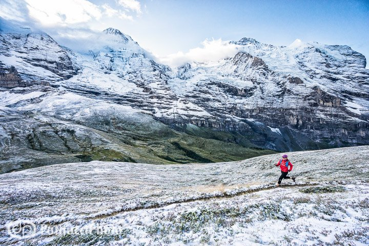 Trail running Grindelwald