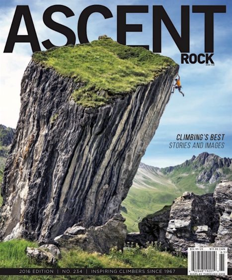 Rock & Ice Magazine Ascent issue 2016