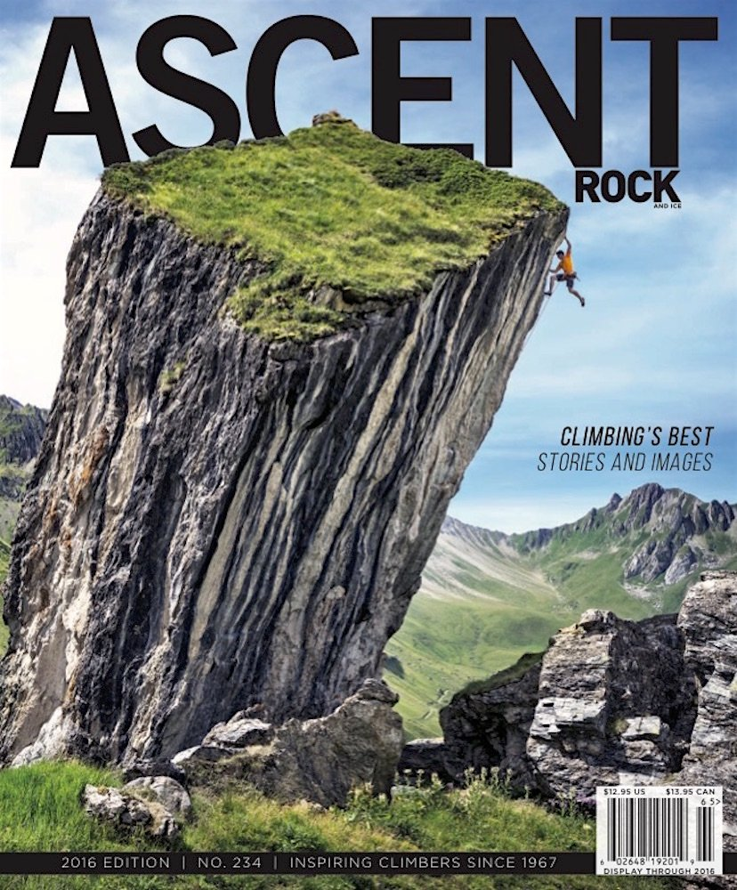 Rock & Ice Magazine Ascent issue 2016