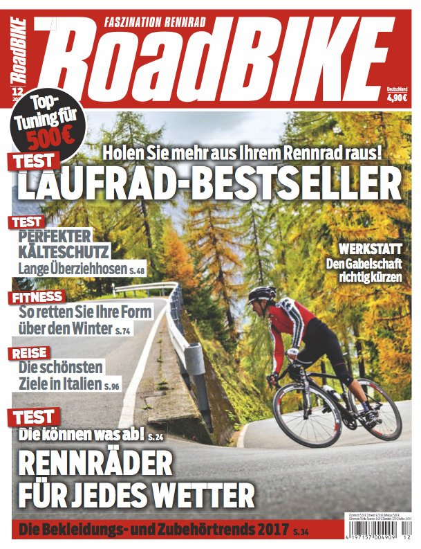 RoadBIKE Magazine : Assignments & Stock Licensing