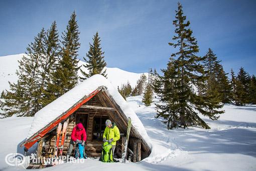 Kosovo backcountry ski hut