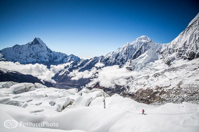 Ueli Steck Annapurna descent