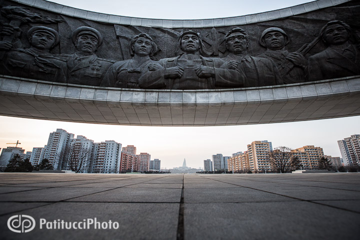 North Korean Workers Party Monument