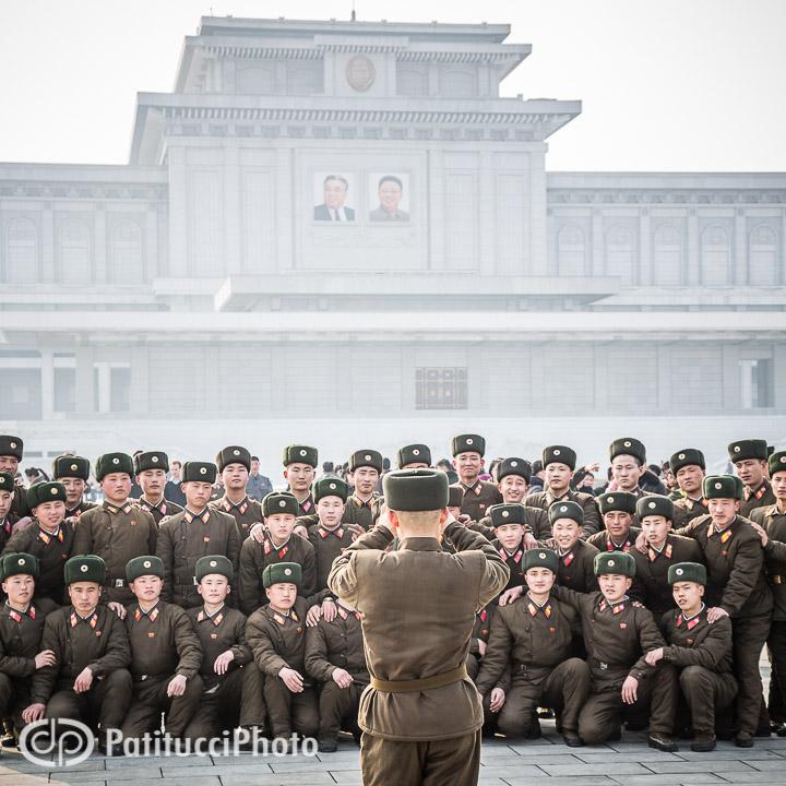 The Pyongyang mausoleum