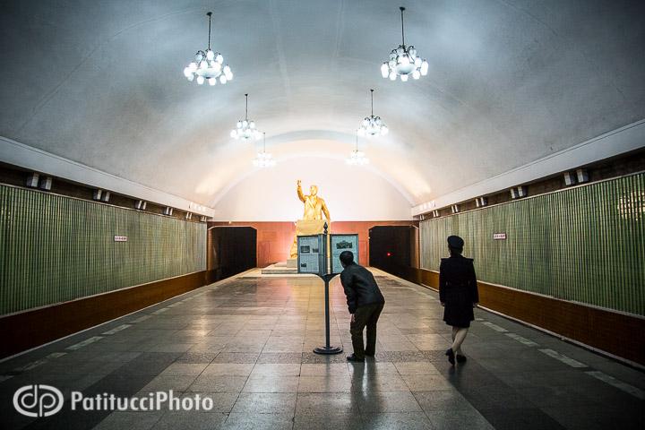 The Pyongyang underground metro