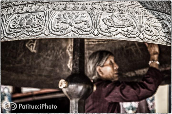 Buddhist woman