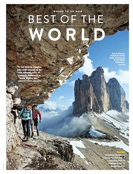 NG Traveler Dolomites Alta Via