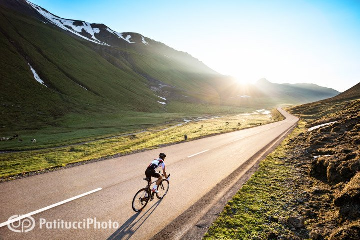 Road biking the Albula Pass