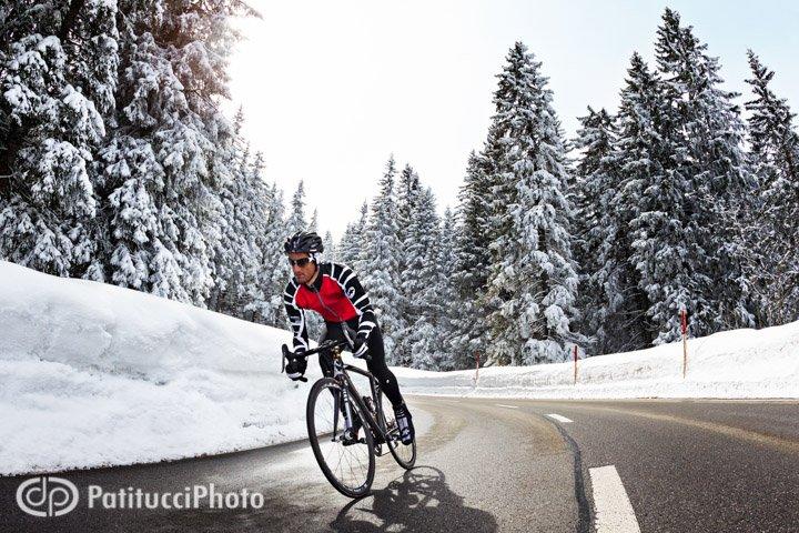 Winter. The Gurnigel Pass.