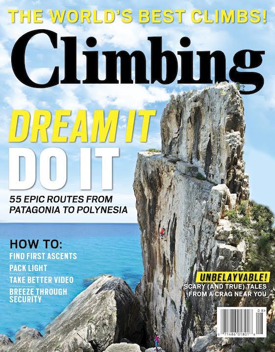 Climbing Magazine : Assignments & Stock
