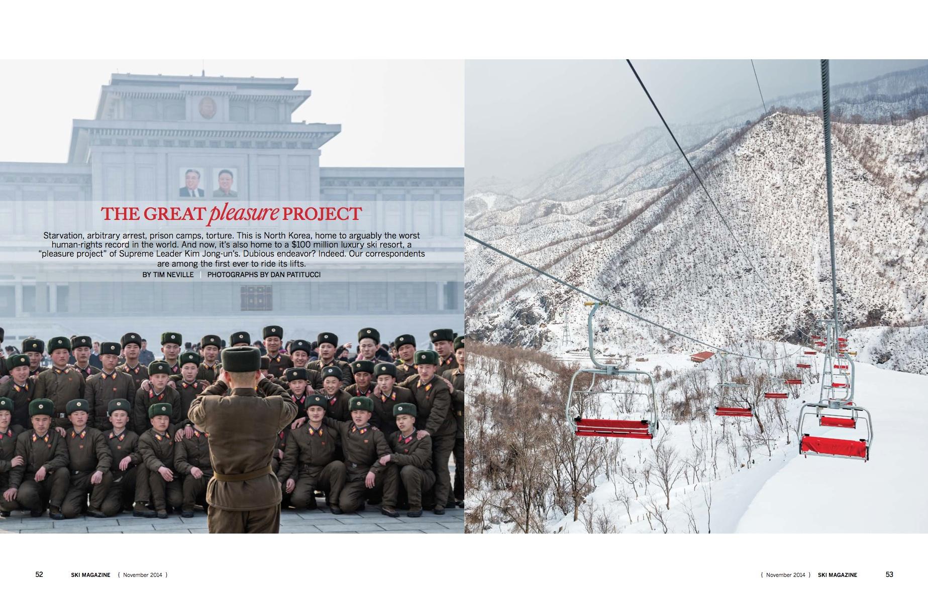 Ski Magazine : International Assignments, North Korea & Kosovo
