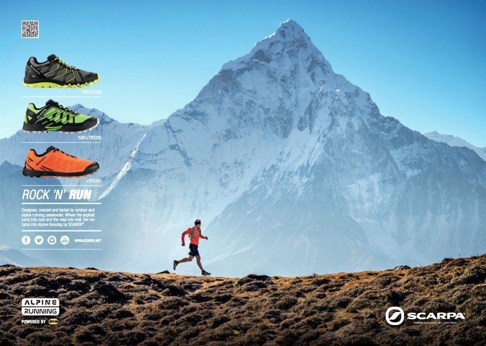 Scarpa : Photoshoots with Ueli Steck