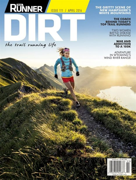 Trail Runner Magazine DIRT issue Hardergrat