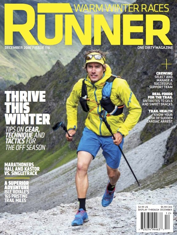 Trail Runner Magazine : Assignments & Stock Licensing