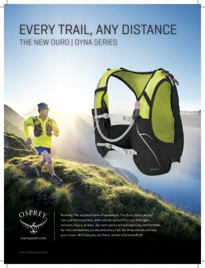 Osprey Packs : Brand Partner / Commercial Photoshoots
