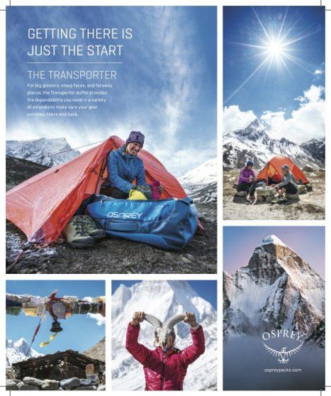 Osprey Packs : Brand Partner & Commercial Shoots