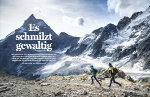 Runner's World Germany Glacier Haute Route Feature