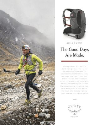 Osprey Packs Commercial Photoshoots